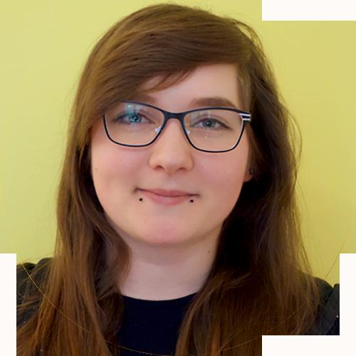 Julia Kreutzfeldt arbeitet als Logopädin in der Praxis Jülicher Sprachinsel